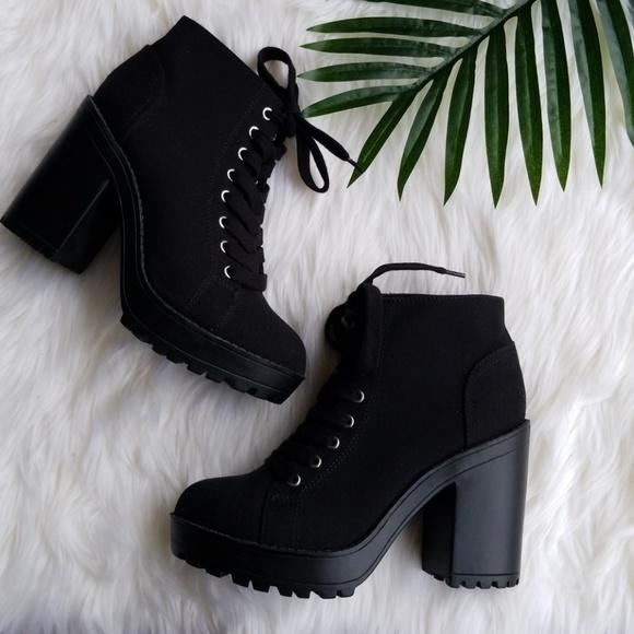 Shoes | Hm Divided Platform Ankle Boot
